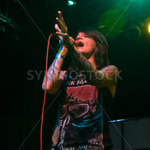 BOISE, IDAHO/USA – MARCH 8TH, 2015: Renee Phoenix from Fit for Rivals concert - Shot Your show