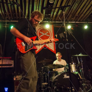 BOISE, IDAHO/USA MARCH 26, 2015: Guitarist on stage at The Reef during the annual treefort Festival - Shot Your show
