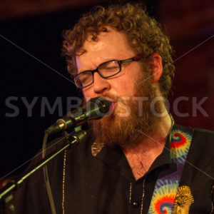 BOISE, IDAHO/USA MARCH 26, 2015: Singer at the Reef while at the treefort music festival in Boise, Idaho - Shot Your show