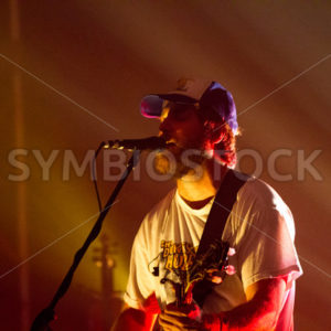 BOISE, IDAHO/USA MARCH 26, 2015: Trampled By Turtles sining at the Knitting Factory during TreeFort - Shot Your show