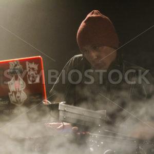 DJ performs - Shot Your show