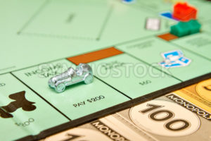BOISE, IDAHO - NOVEMBER 18: The game Monopoly has been published by Parker Brothers since 1935 - Shot Your show