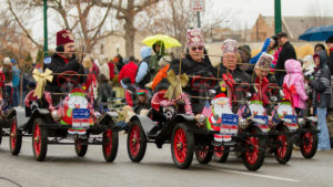 BOISE, IDAHO - NOVEMBER 24: The El Korah Shriners drive their little cars through the boise Holiday Parade on November 24, 2012 - Shot Your show