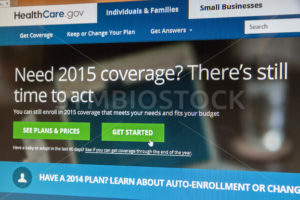 BOISE, IDAHO/USA - DECEMBER 24, 2014: Healthcare.gov website showing there is still time to get coverage - Shot Your show