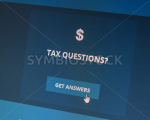 BOISE, IDAHO/USA - DECEMBER 24, 2014: Tax questions? You can get answers - Shot Your show