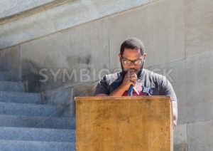 Speaker at a rally in Boise, Idaho - Shot Your show
