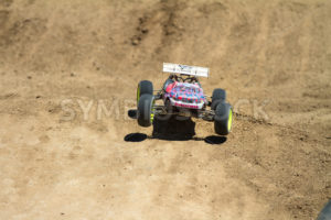 Truggy on a small little leap - Shot Your show
