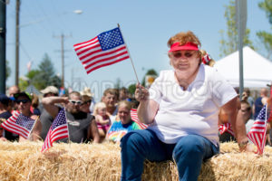 Woman celebrating the 4th of july - Shot Your show